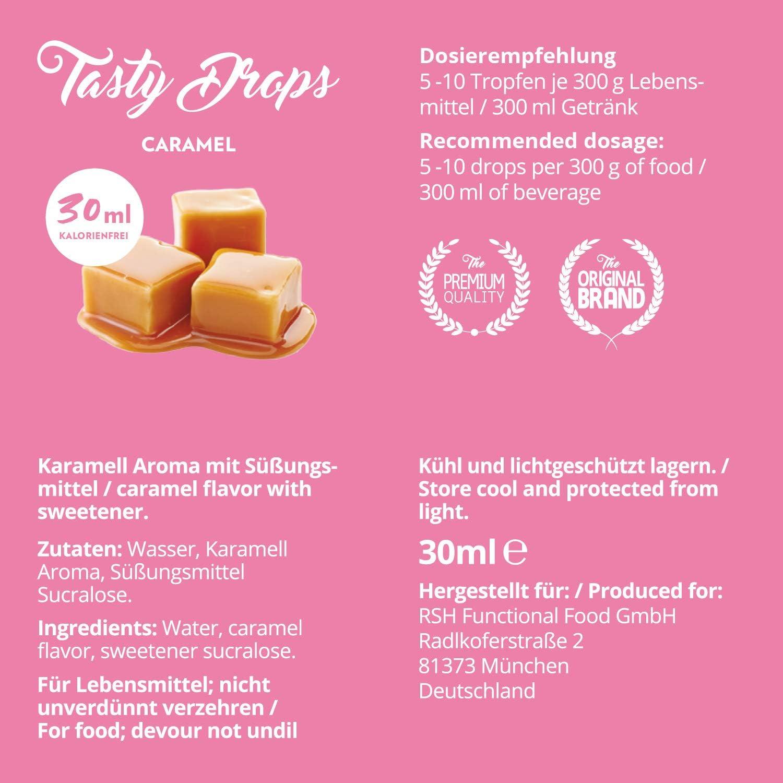 Flav Drops sin azúcar y calorías – Saborizante con sucralosa ...