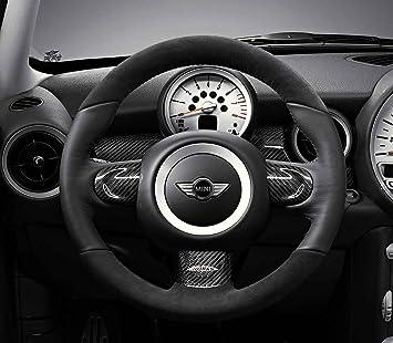 Mini Genuine Jcw Sport Steering Wheel Trim Carbon Left Ns Passenger