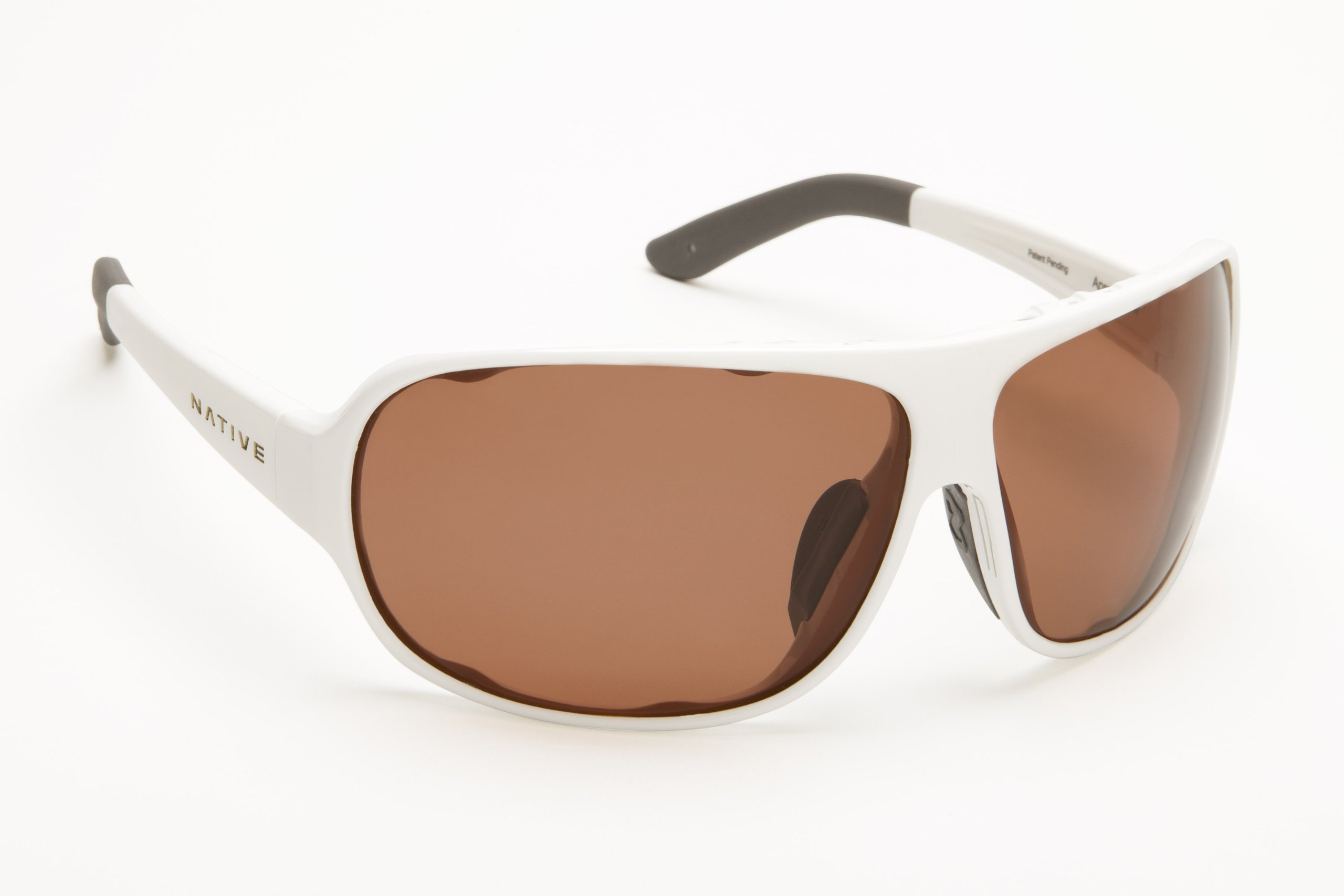 Native Eyewear Apres Sunglasses (Snow, Copper)