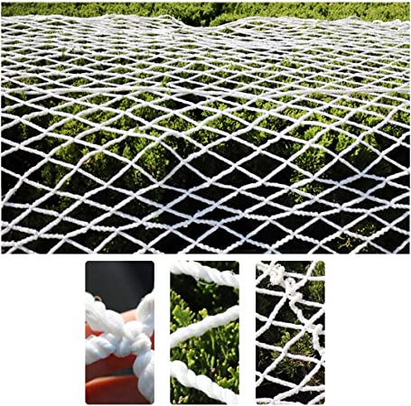 Malla de cuerda de nylon al aire libre, Cerca Neta para Jardín Perros Cubiertas Vegetales Red