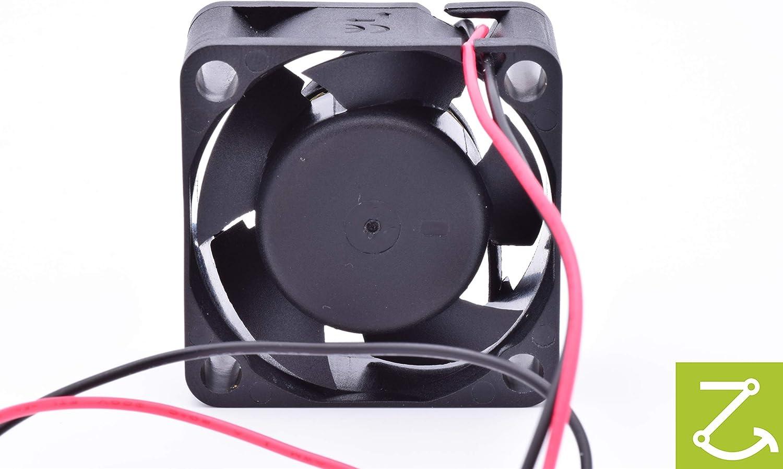 SUNON Ventilateur//Fan 12V 40x40x20mm 9,3m/³//h 12.3dBA Original HA40201V4-1000U-A99 Ultra Silencieux