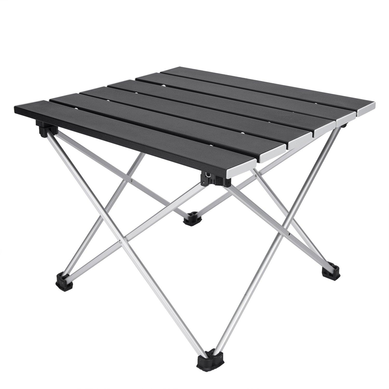 Amazon.com: Mesas de acampada portátiles con parte superior ...