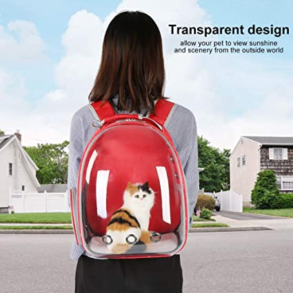 Hiking Dog Travel Carrier Bag Designed for Travel Pet Carrier Bag with Mesh Ventilation Walking /& Outdoor Use Boddenly Pet Carrier Backpack for Small Cats and Dogs