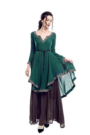 Amazon Lemail Renaissance Medieval Peasant Costume Scottish