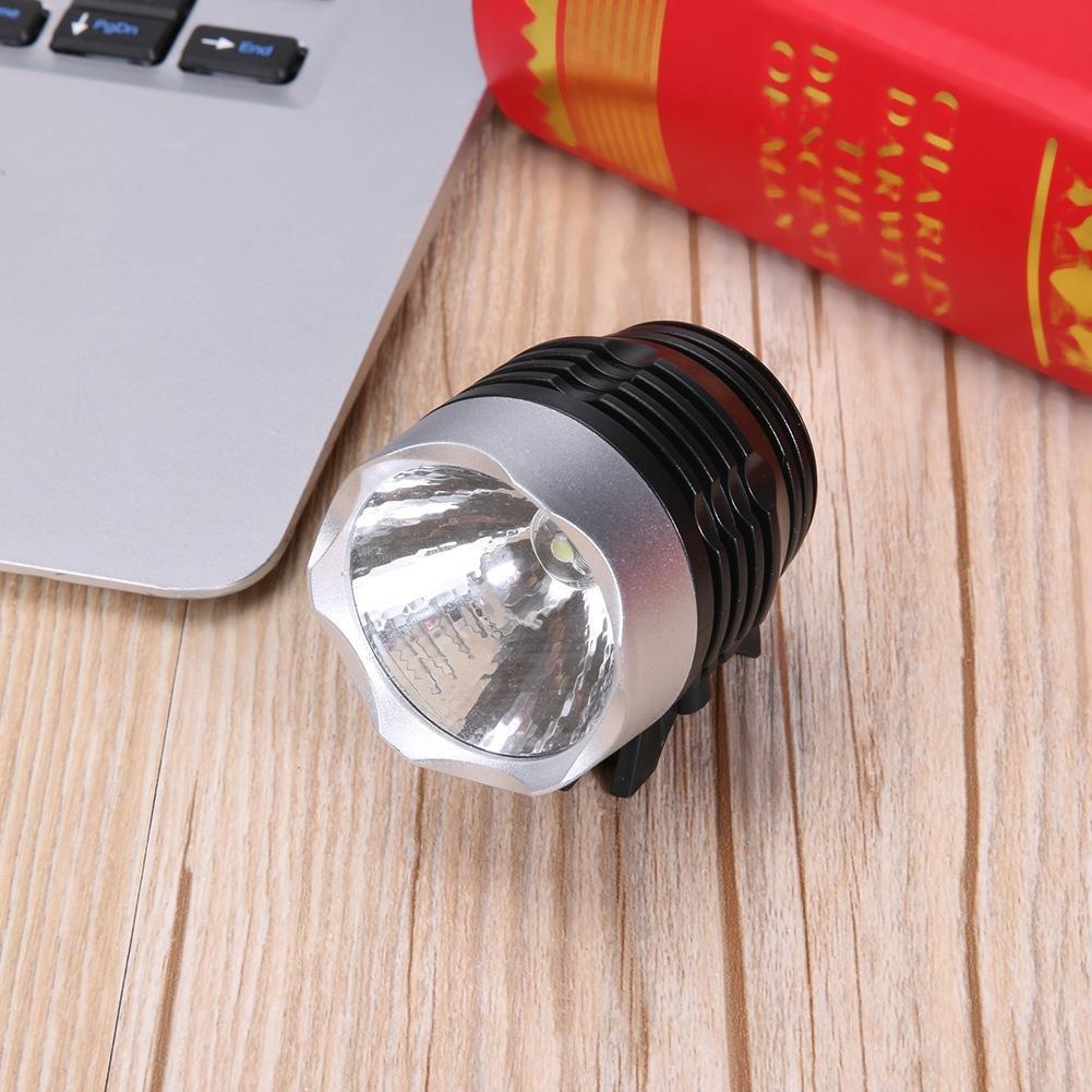 Prosperveil Linterna LED de 3 Modos para Bicicleta de Monta/ña