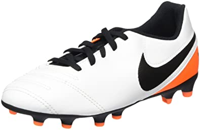 ab3aa7bbf Image Unavailable. Image not available for. Color  NIKE Kids Jr Tiempo Rio  III FG-R Soccer ...