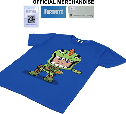 Fortnite Flossing Rex Ragazzi T-Shirt/ Merchandise Ufficiale