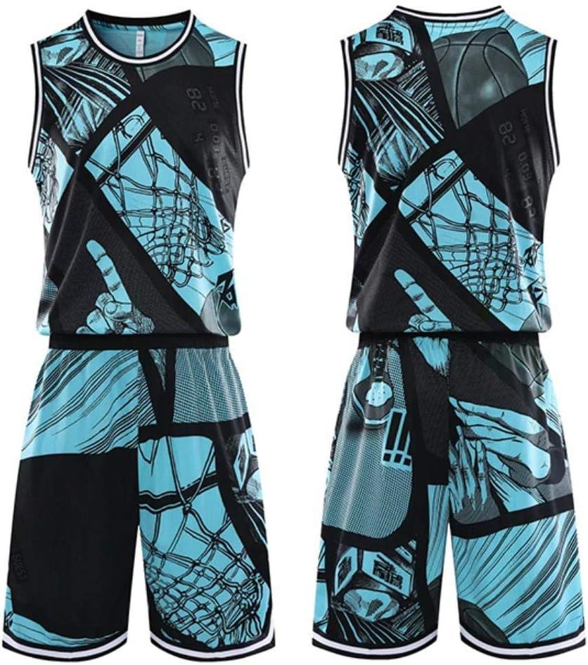 DXR - Camiseta de baloncesto para hombre y mujer, transpirable, sin mangas, pantalones cortos, color Verde, tamaño 5XL: Amazon.es: Hogar