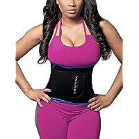SHAPERX Waist Trainer Sweet Sweat Bands Trimmer Ab Belts Corset Weight Loss Men Women