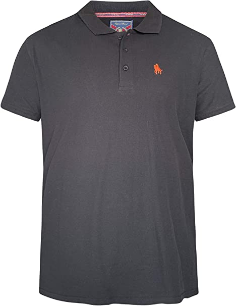 S/&C Mens Short Sleeve Polo Shirt Regular Fit