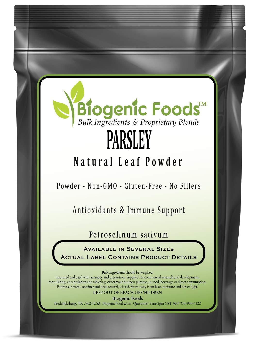 Parsley - Natural Leaf Powder (Petroselinum sativum), 1 kg