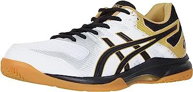 ASICS Men's Gel-Rocket 9 Volleyball Shoes, 13, White/Black
