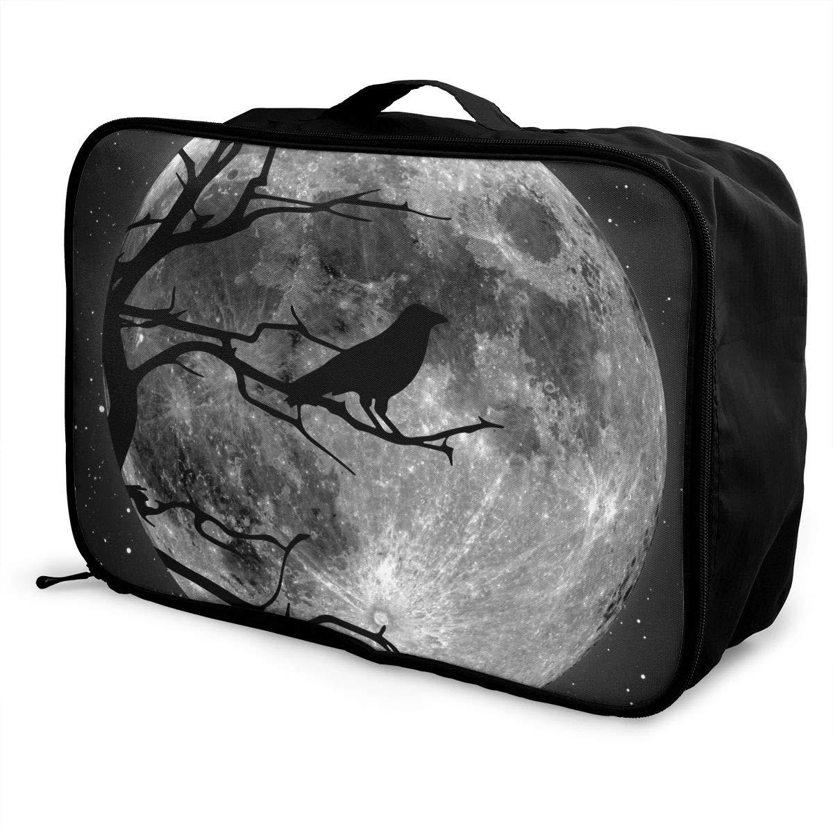 e6cf40260e36 Amazon.com: Crow Luggage Bag Capacity Portable Large Toiletry Bag ...