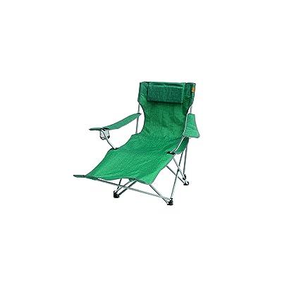 Easycamp Unisexe Castres Chaise longue, Vert, taille unique