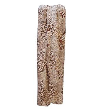 Indianbeautifulart Plage Paréo surdimensionné écharpe Sarong Pareo imprimé  abstrait Wrap Maillot Cover Up ce0984dfbf2