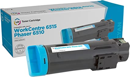 WorkCentre 6515 Set of 4 HY Toner Cartridges LD Compatible Xerox Phaser 6510