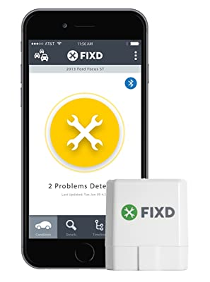FIXD OBD-II Active Car Health Monitor
