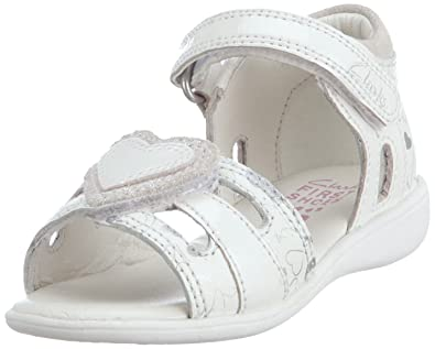 f7a7bfdc67a89 Clarks Hazy Shine Fst Sandals Girls White Weiss (White Leather) Size: 22:  Amazon.co.uk: Shoes & Bags