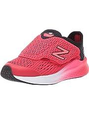 ba903d79536bb New Balance Kids' Fast V1 Fresh Foam Hook and Loop Running Shoe