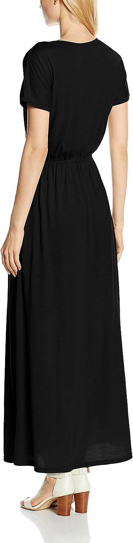 HotSquash Maxi Robe Femme Noir