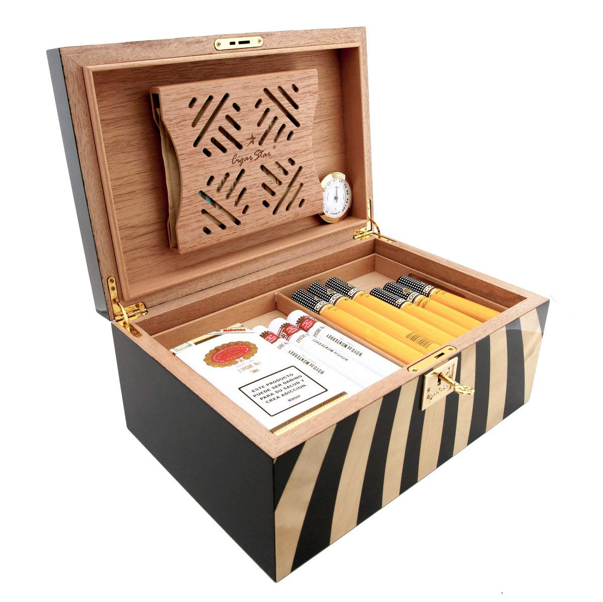 Cigar Star Boketto Humidor Limited Edition Optical Illusion Made from Wood! by Cigar Star (Image #7)