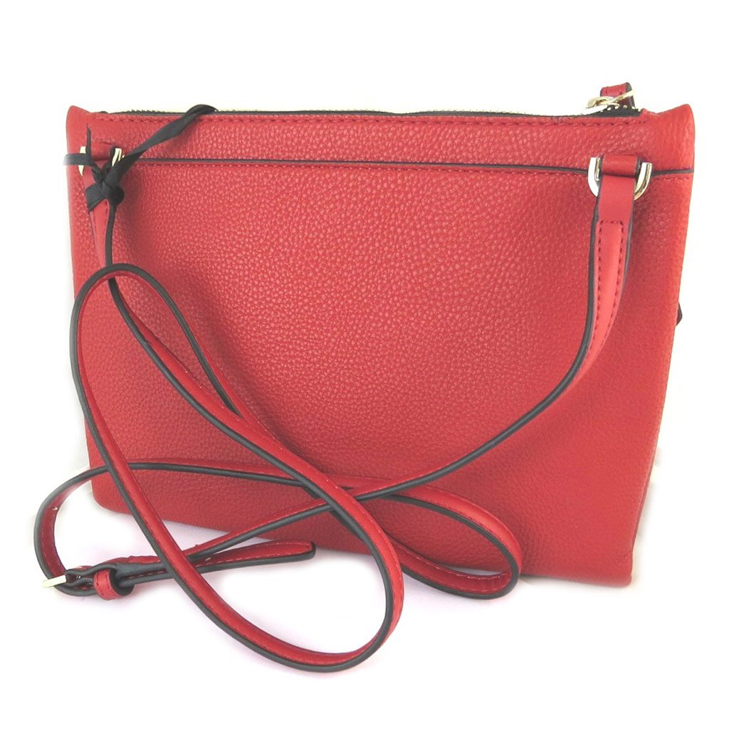 Fiorelli [N9127 Sac pochette rouge 24x19x2.5 cm: Amazon