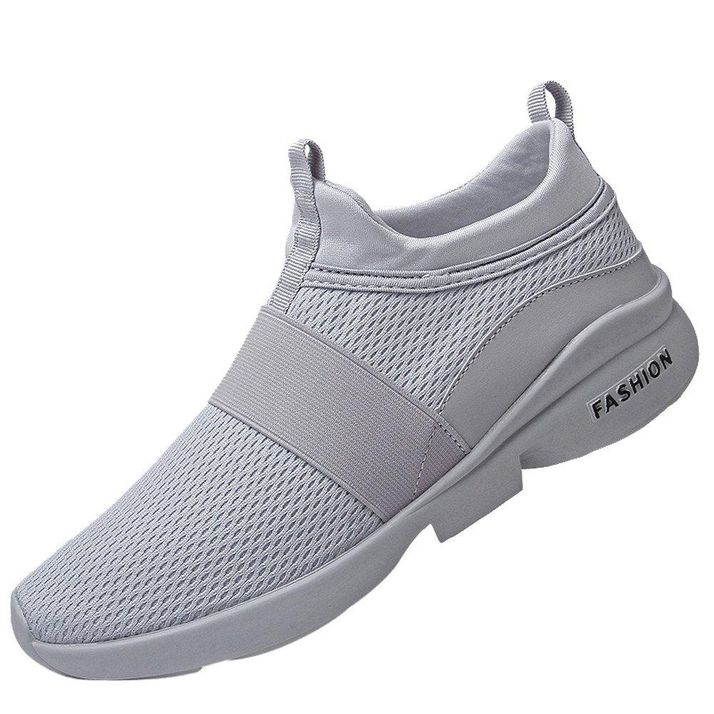 Hombres Zapatillas Casual de Deporte Malla Zapatos de Gimnasia para Caminar de Peso Ligero