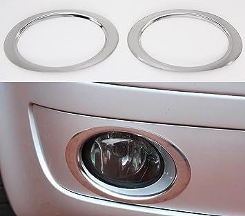 Antinieblas cromados T5 Facelift 2009-2015 molduras aros