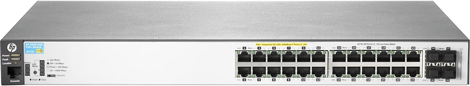 HP Hewlett Packard Enterprise BladeSystem 2530-24G-PoE+