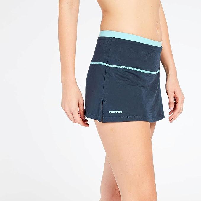 Falda Pantalón Azul Proton (Talla: S): Amazon.es: Deportes y aire ...
