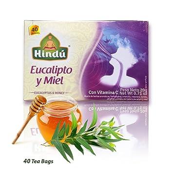 Hindu Eucalyptus and Honey Tea - 40 bags