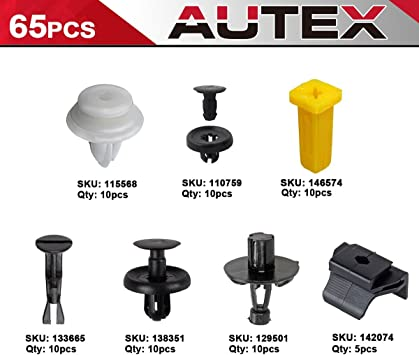 MITSUBISHI CAR BODY /& DOOR LINING PANEL FASTENER 7MM RETAINER//ROVET TRIM CLIPS
