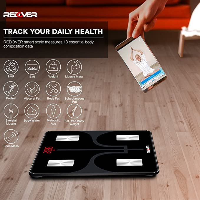 REDOVER-Bluetooth Body Fat Scale