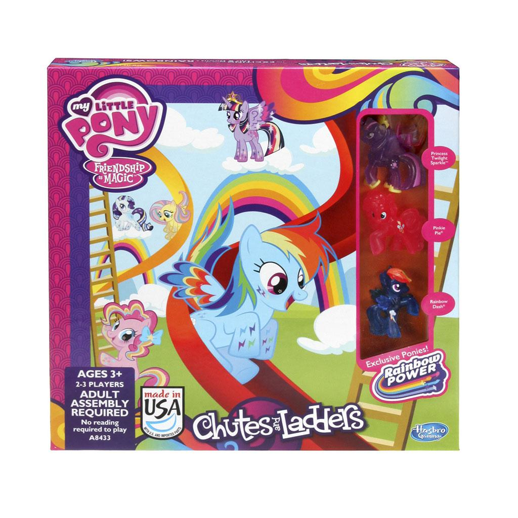 Hasbro My Little Pony Chutes And Ladders Game Amazon Toys