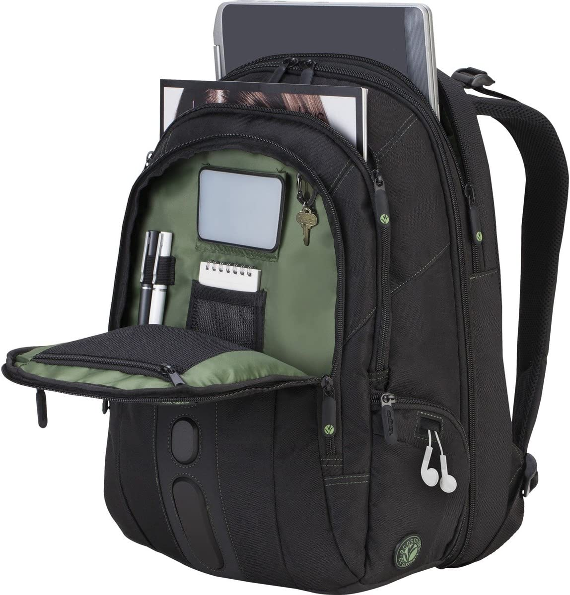 Targus 17 Spruce EcoSmart Checkpoint-Friendly Backpack TBB019US