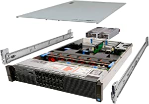 Dell PowerEdge R720 Server 2X E5-2640 2.50Ghz 12-Core 192GB 8X 1TB H310 Rails (Renewed)