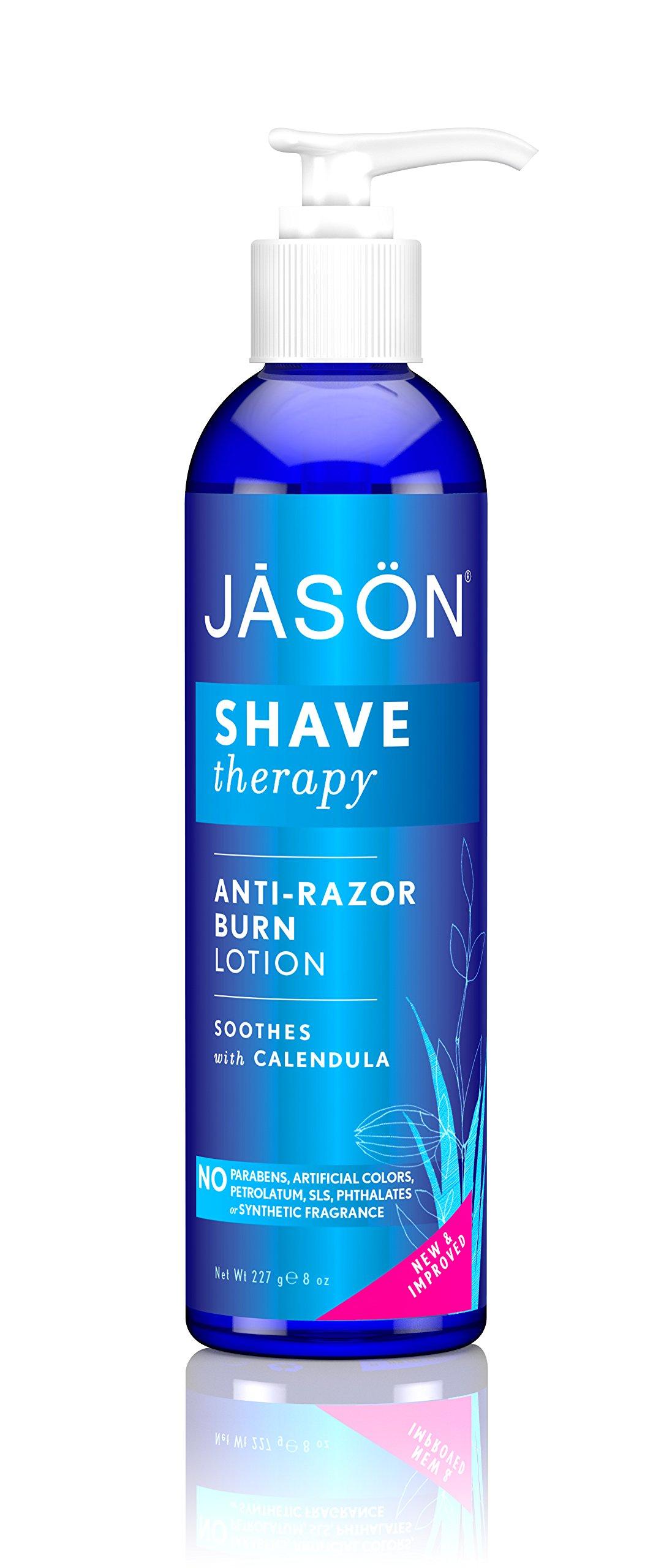 JASON Anti-Razor Burn Shaving Lotion, 8 Ounce