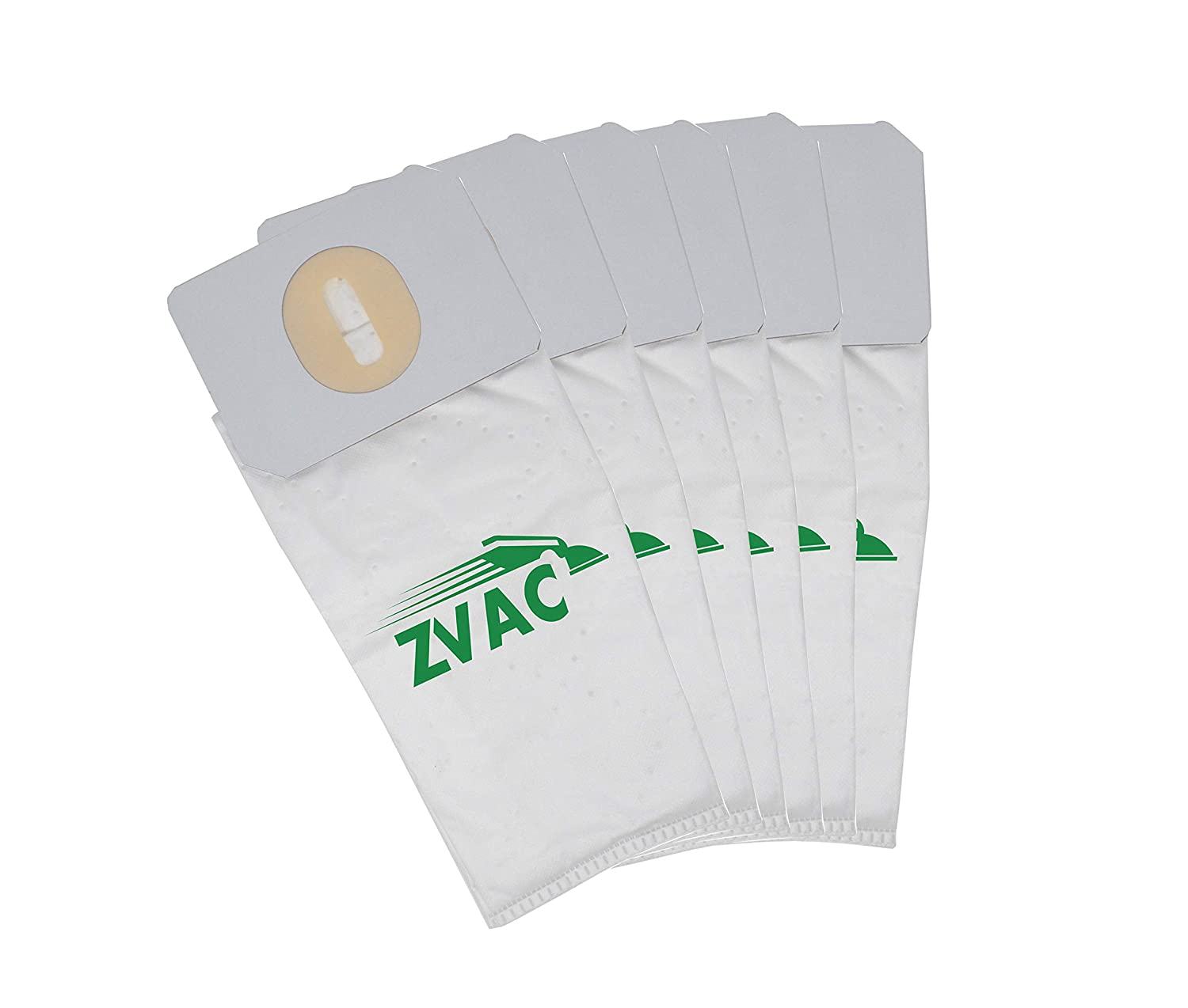 ZVac 6 Premium Proteam Upright Bags Made Fits ProForce 1500, 1500XP Replaces 103483 (6, 3L)