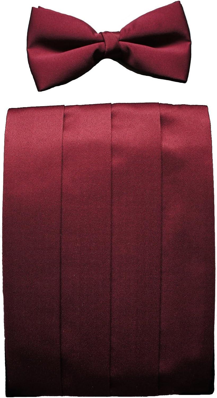 Burgundy faja y arco juego de funda de vino de Borgo/ña de cordones para las cortinas