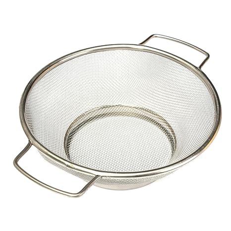 Colador - SODIAL(R)colador vegetal de acero inoxidable de malla fina