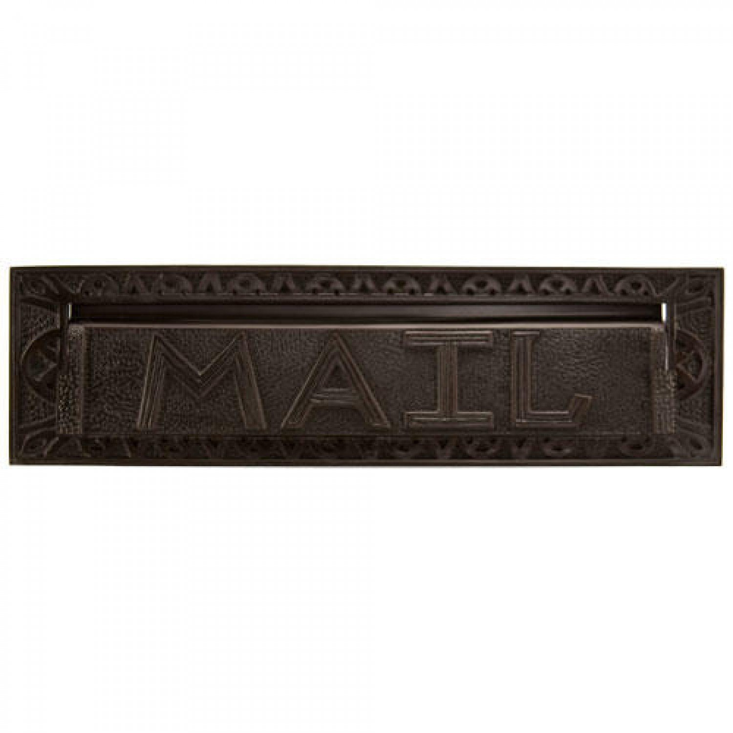Naiture 13'' Classic Heavy Duty ''mail'' Letter Slot in Oil Rubbed Bronze Finish by SH
