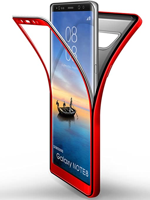 coque samsung galaxy note 8 rouge