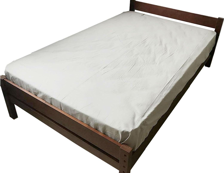 ベッド すのこベッド セミダブル ベッド ベット スノコ sunoko すのこベット スノコベッド すのこ アウトレット 高さ 調整 ピコ ブラウン B073WP3XG2