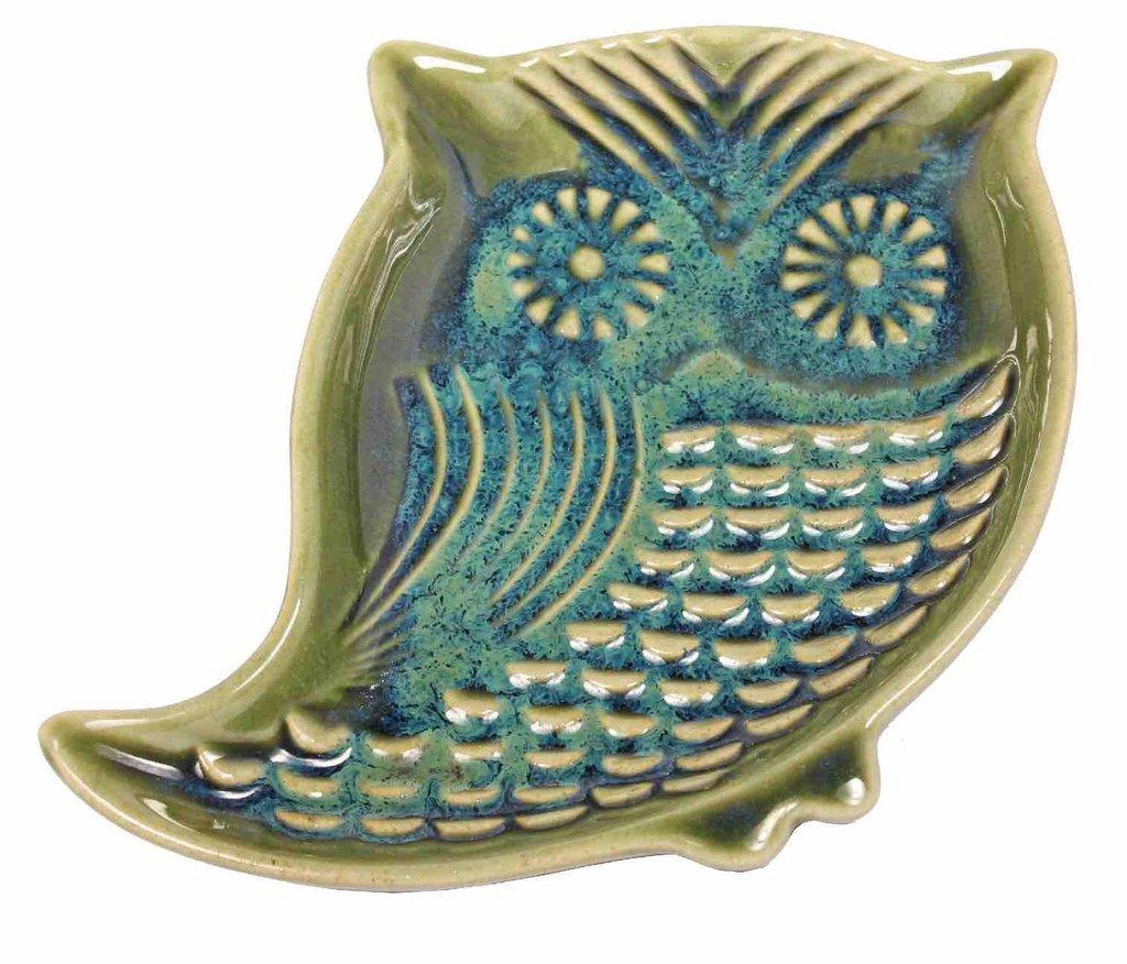 Owl Garlic Oil Dish China