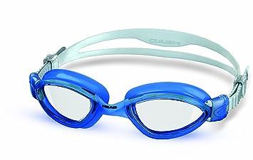 62ce0298fd46 Head Tiger LSR, Occhialini da nuoto, Trasparente/Blu: Amazon.it: Sport e  tempo libero