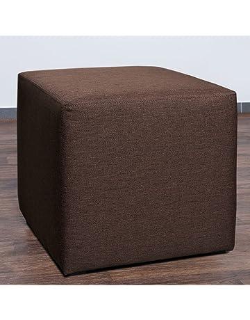 mobelbar 8008 in 12 farben erhaltlich sitzhocker sitzbank wurfel ablage cube mit kunststoffgleiter fuss 45 cm
