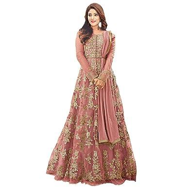 Generic Women\'s Net Heavy Suits Floor Length Gown /Anarkali /Salwar ...