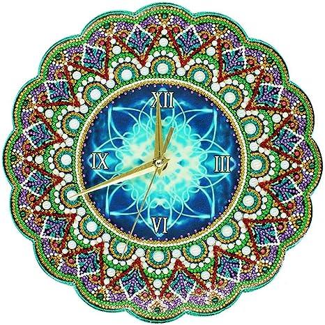 Round Drill Diamond Painting Handmade Rhinestones Mosaic Wall Craft Kits Gift