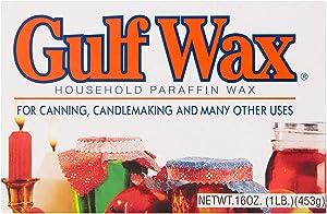 Gulfwax Paraffin Wax 1 Lb.