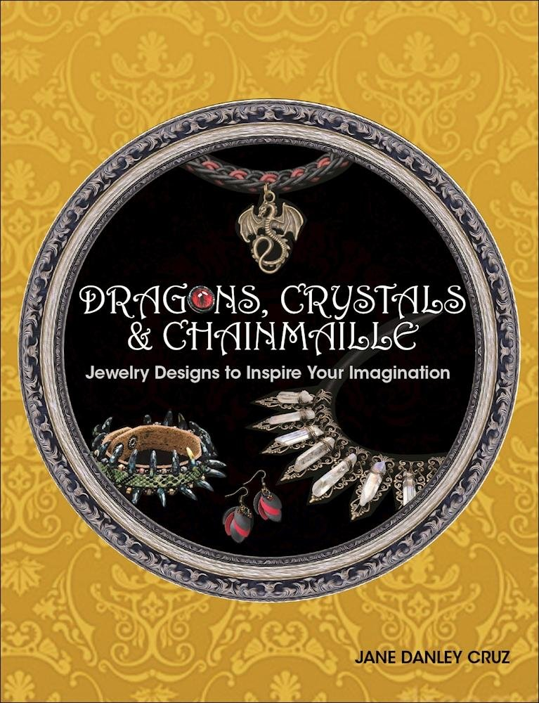 Dragons Crystals Chainmaille Jewelry Imagination